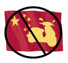 No Chinese Scooters