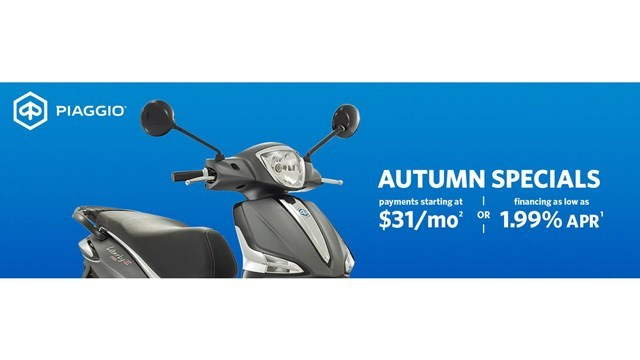 Piaggio Autumn Specials